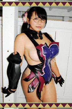 New porn Huge tit cosplay