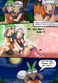 Artist Hikariangelove Pokemon Confessions Of A Fellow Coordinator Non Hentai May Haruka