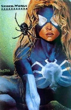 Free Hentai Western Gallery: Arachne aka Spider-Woman 2 (Color)
