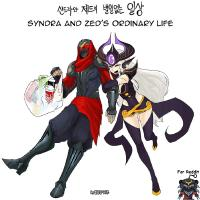 [LoL] Syndra and Zed's Ordinary Life Season 1 & 2 and Extras [English]