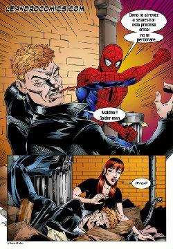 Free Hentai Western Gallery: [Leandro Comics] Spider-Man [Spanish]