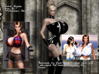 Free Hentai Misc Gallery: Foxtrot 3D - Alyssa