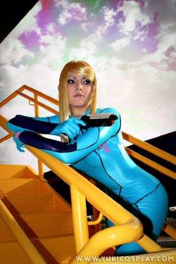 Free Hentai Cosplay Gallery: Samus Aran Cosplay