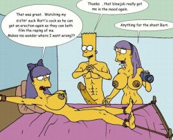 xxx Bart and marge hentai porn