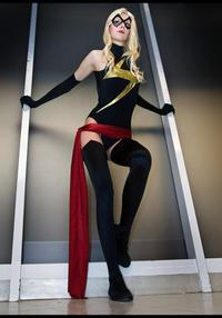Free Hentai Cosplay Gallery: Miss Marvel Cosplay