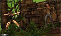 Free Hentai Misc Gallery: [Mongo Bongo] Lara & Nathan (Tomb Raider, Uncharted)