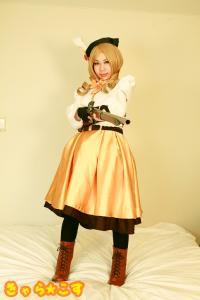 Free Hentai Cosplay Gallery: [Chara☆Cos] 魔法少女ま○か☆マギカ 巴○ミ (コスプレイヤー桃)  総集編