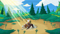 Assorted Adventure Time Backgrounds