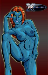 Free Hentai Western Gallery: Mystique