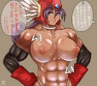 muscle girl hentai