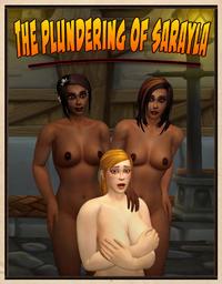 [Shikron] The Plundering of Sarayla + panels