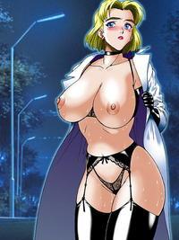 Free Hentai Image Set Gallery: Ritsuko - Maya - Evangelion Hentai