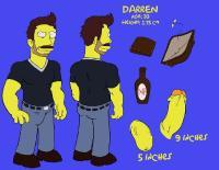 Darren's Adventure (The Simpsons) [Ongoing]