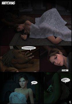 Free Hentai Misc Gallery: Lara Croft and Doppelganger