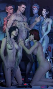Free Hentai Misc Gallery: Mass Effect 3D gallery