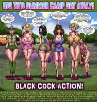 Free Hentai Western Gallery: [Smudge] Big Tits Summer Camp Get Away!