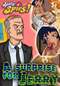 [Drawn-Sex] A Surprise for Jerry (Totally Spies!) [French]
