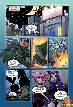 Free Hentai Western Gallery: Jinx X Raven (Teen Titans)