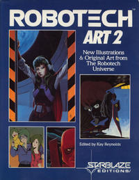Robotech Art 2 - New Illustrations and Original Art from The Robotech Universe