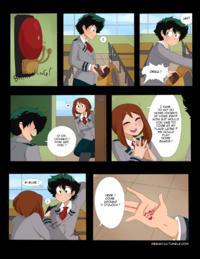 Merunyaa - Untitled Boku no Hero Academia Diaper Comic