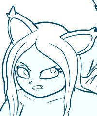 Wolf Girl Strip