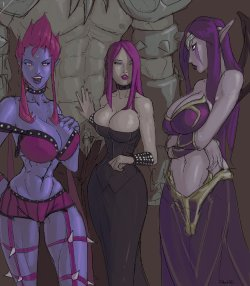 Free Hentai Western Gallery: [AKA6] The After Party (League of Legends) [In Progress]