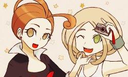 Free Hentai Non-H Gallery: Pokemon X Y Alexa (Pansy), Korrina (Corrin), Valerie (Mache), Viola, Diantha (Camet), (Non-Hentai)
