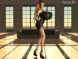 Free Hentai Misc Gallery: Foxtrot 3D (Kelly)
