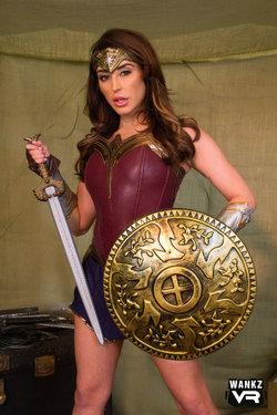 Christiana Cinn as Wonder Woman
