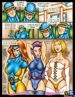 Free Hentai Western Gallery: [Drawn-Sex] X-Men