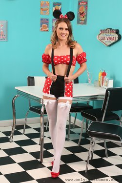 Deannah as Minnie Mouse