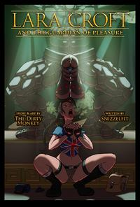 Free Hentai Western Gallery FRENCH - [The Dirty Monkey] Lara Croft And The Guardian Of Pleasure