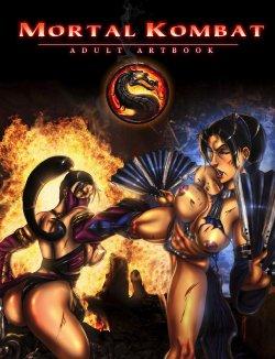 MK Adult Art Book