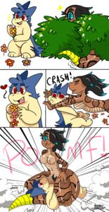 [Bork-Draws] Typhlosion X Snake Girl [English] (Finished)