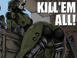 [Double Deck Seisakujo (Double Deck)]  KILL'EM ALL! (Fallout 4) [Portuguese-BR] [Colorized]