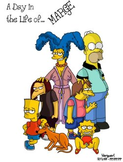 Free Hentai Western Gallery: Simpsons: A day in the life of marge