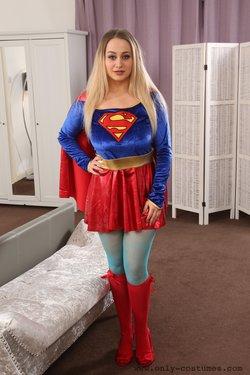 Emma Rachael as Supergirl