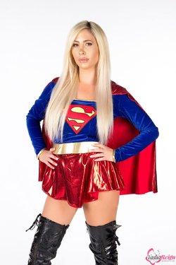 Tasha Reign as Supergirl