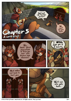 [Feretta] A Tale of Tails: Chapter 5 - A World of Hurt (ongoing)