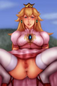 princess peach henti