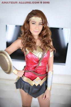 Athena Amour as Wonder Woman