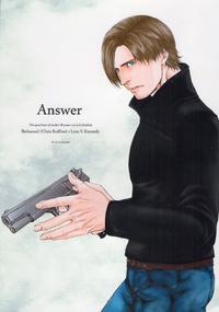 (C84) [clr, 12.5 (Akizou, Mizuki)] Answer (Resident Evil)