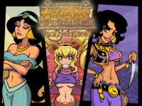 [Akabur] Princess Trainer Gold CG (Aladdin)