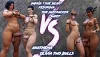 [Squarepeg3D] The F.U.T.A – Match 04 – Ingrid and Margaret vs Shaylah and Olivia