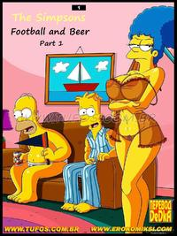 Free Hentai Western Gallery Football and Beer Part 1 (The Simpsons) (English) (Complete)