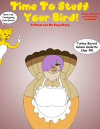 Time To Stuff Your Bird (Thanksgiving Comic) Foxtide888 (WIP)