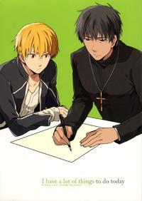(SUPERKansai18) [WORLD BOX (Yuu)] I have a lot of things to do today. (Fate/Zero)