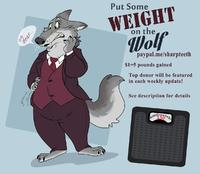 Put Some Weight On That Wolf!
