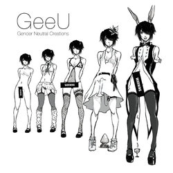 GeeU Presents Gender Neutral Creations - Issue 02 Complete [Portuguese-BR] [LIANEF]