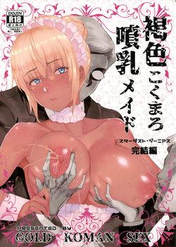 (C94) [GOLD KOMAN SEX (Baksheesh AT)] Kasshoku Kokumaro Funnyuu Maid Stardust Genius Kanketsuhen [English] [Hive-san]
